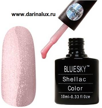 Шеллак Bluesky shellac Grapefruit Sparkle 80546 10 мл. фото 2