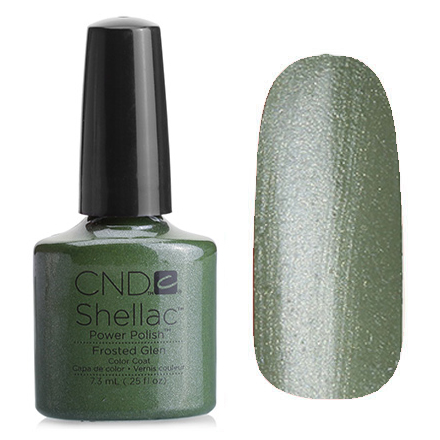 Гель лак CND SHELLAC Frosted Glen фото 2