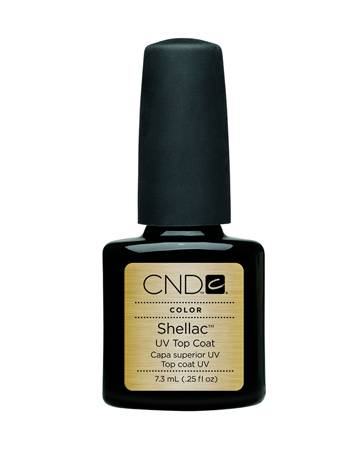 CND SHELLAC Topcoat 7,3 ml фото 10