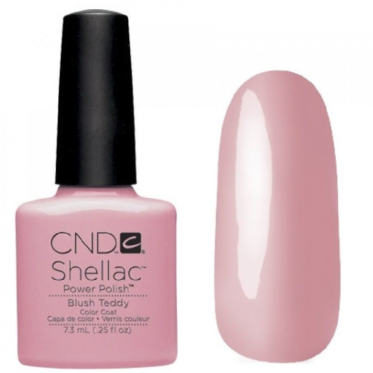 Гель лак CND SHELLAC Blush Teddy фото 2