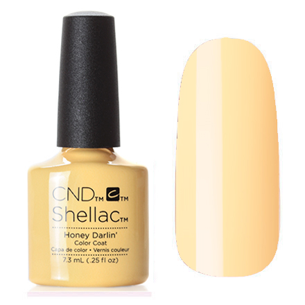 Гель лак CND SHELLAC Honey Darlin' фото 2